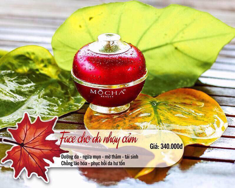 Kem Face cho Da nhạy cảm Mocha - Herbal Luxury Face Cream