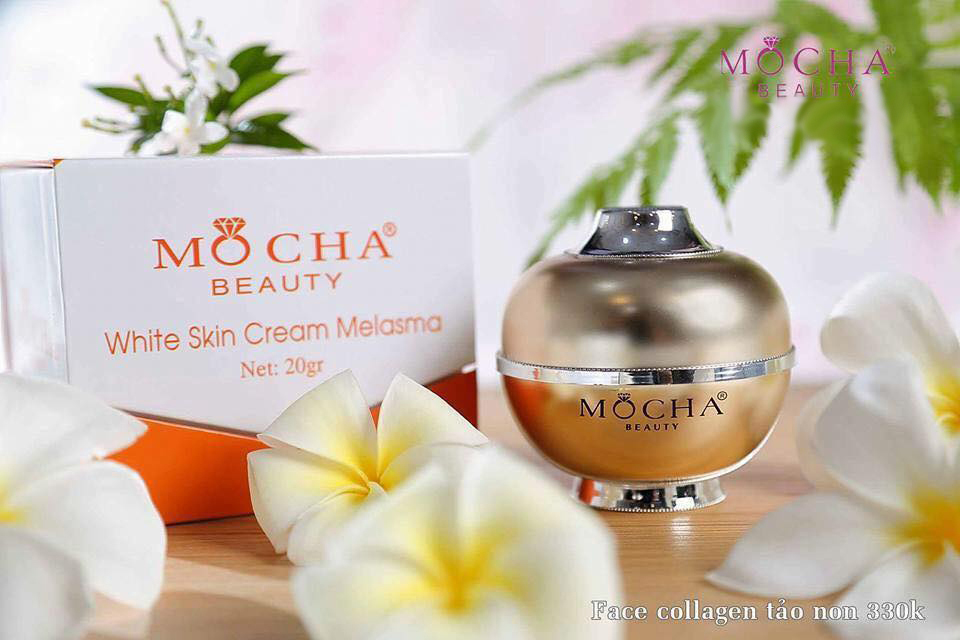 Kem face Collagen tảo non Mocha