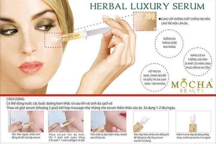 Serum Herbal Luxury Mocha