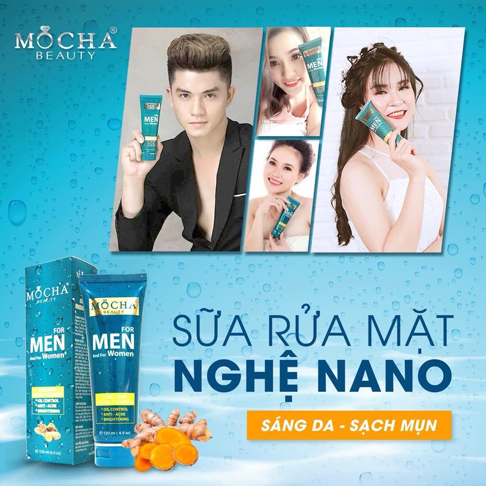 Sữa rửa mặt Nghệ Nano Mocha