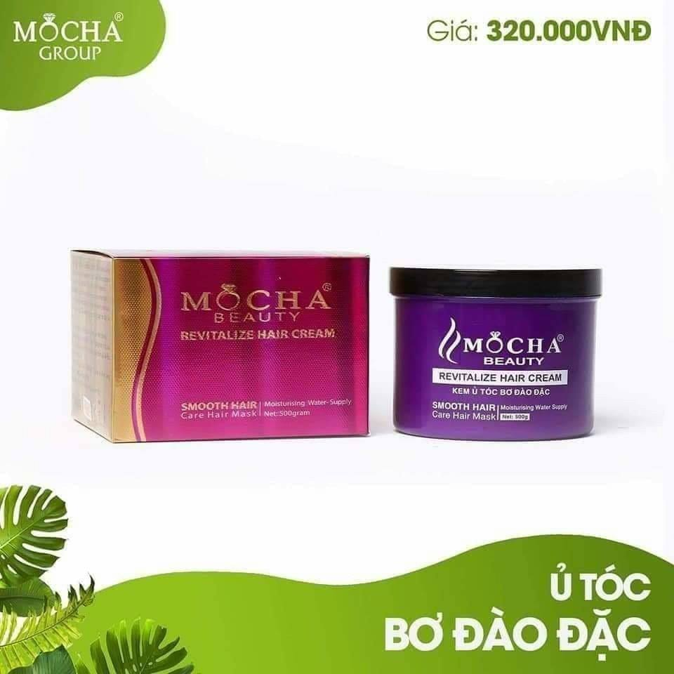 Kem ủ tóc bơ đào đặc Mocha