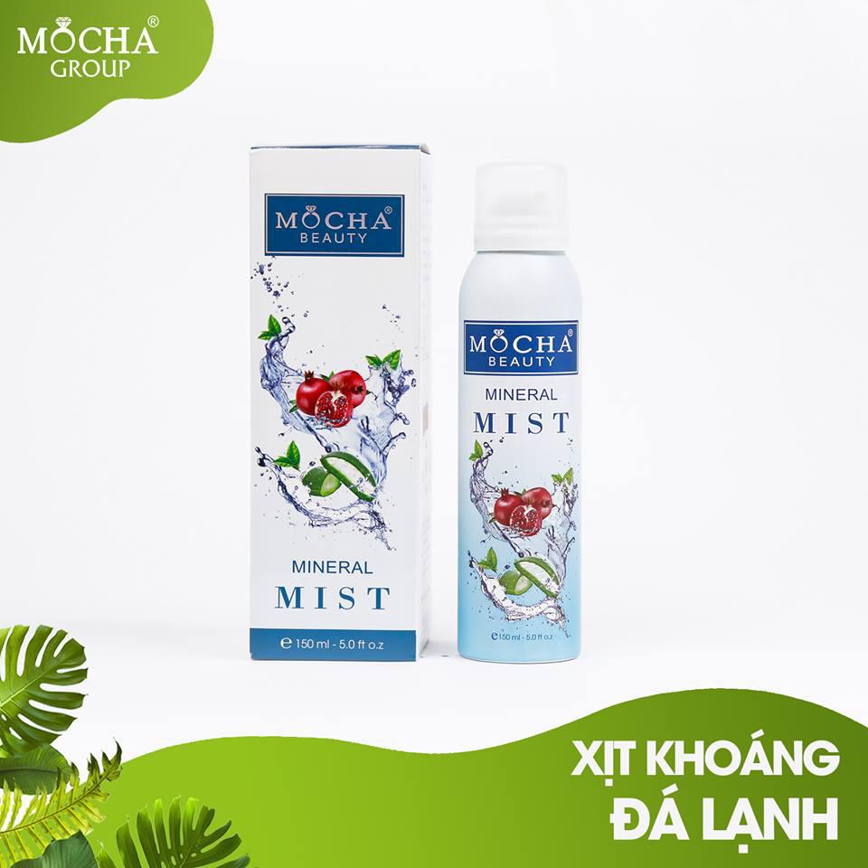 Xịt khoáng Đá lạnh Mocha - Mineral Mist