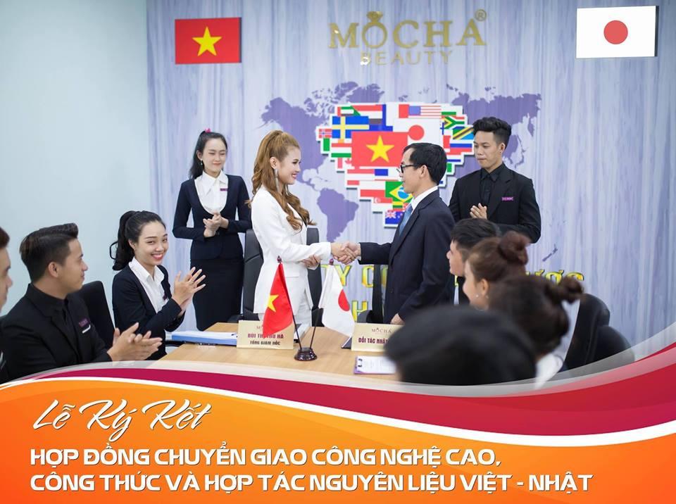 Lễ ký kết hợp đồng chuyển giao công nghệ Việt - Nhật